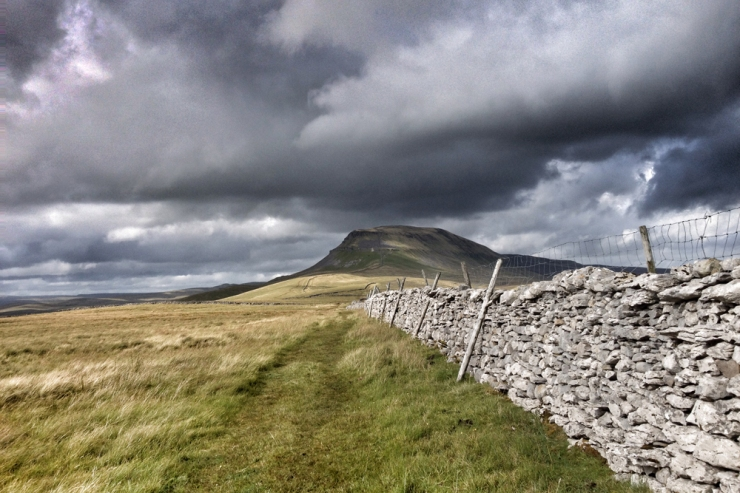 The slow walk on Yorkshire Three Peaks - Pen-y-ghent