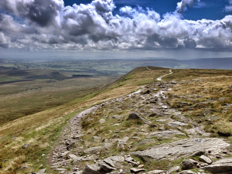The slow walk on Yorkshire Three Peaks – Ingleborough