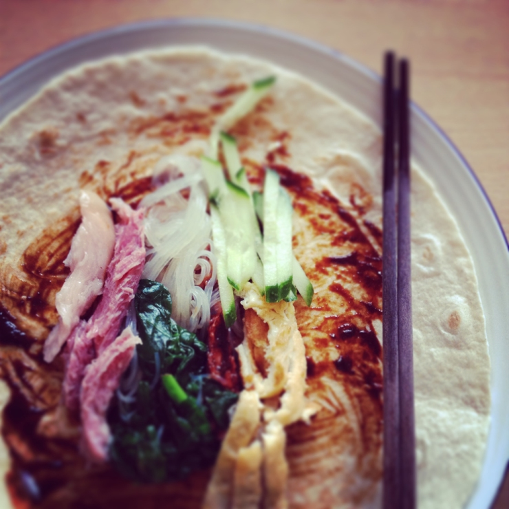 Chinese Spring Wrap on the 4th Day of the Year of Goat