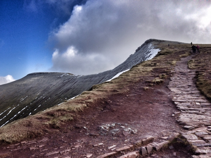 Walking in Wales - Pen y Fan in Brecon Beacons