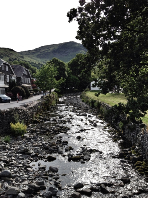 Get a Lakeland ice cream in Glenridding village.