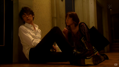 Nodame picks Chiaki up from his lowest point of confidence and self-esteem, and wakes him up with Beethoven Piano Sonata No.8.