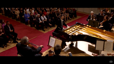 The success of Bach Piano Concerto No.2 in E major, BWV1053 showed Nodame the distance between her and Chiaki ruthlessly.