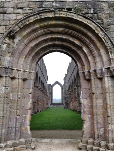 Glimpses of Fountains Abbey