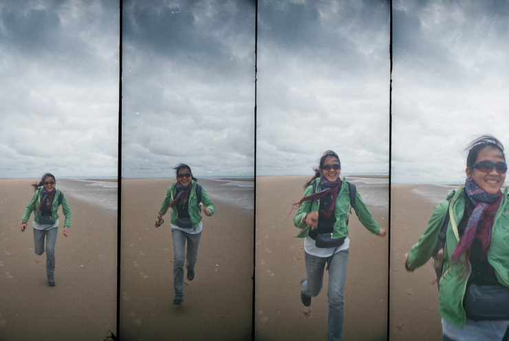 LIVERPOOL COAST IN FOUR-FRAMES